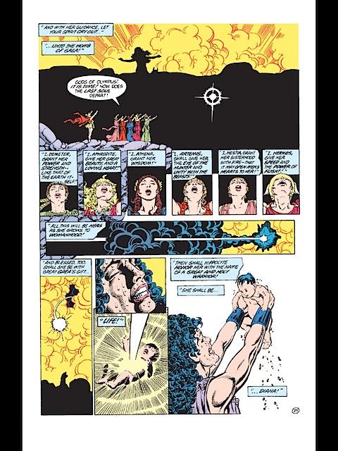 Wonder Woman's birth