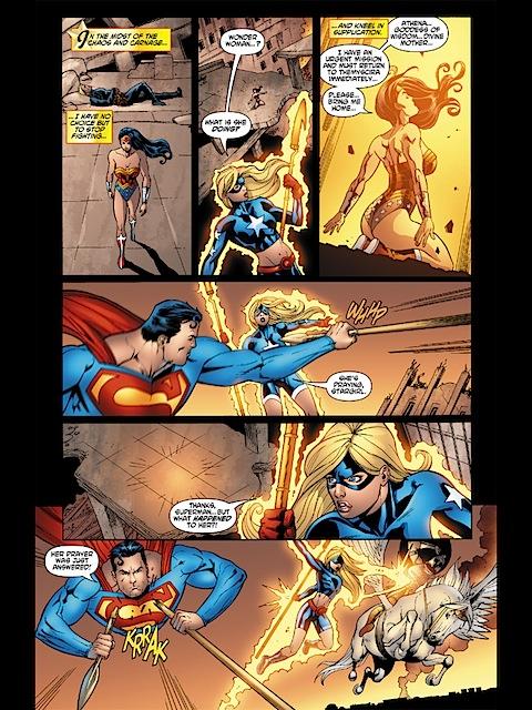 Wonder Woman's prayer is answered