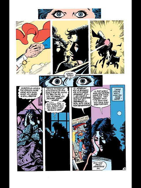 Wonder Woman dreams of Superman