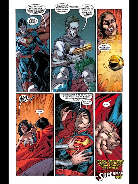 Supes is shot