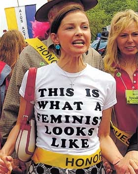 Ashley Judd - this is what a feminist looks like