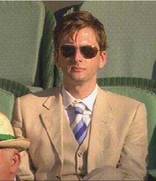 David Tennant at Wimbledon (from Sister Chastity)
