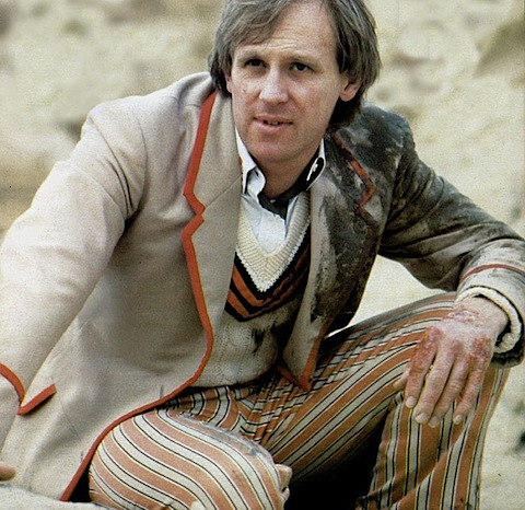 Peter Davison in The Caves of Androzani