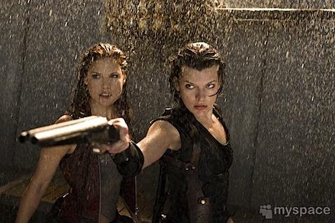 Ali Larter in Resident Evil: Afterlife