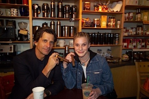 Starbuck in Starbucks with Starbuck