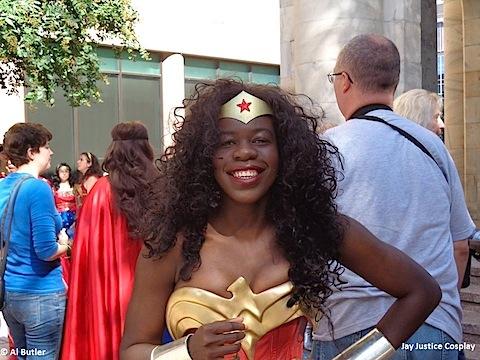Jay Justice as Wonder Woman