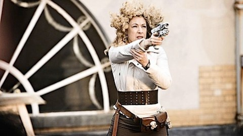 River Song in The Big Bang