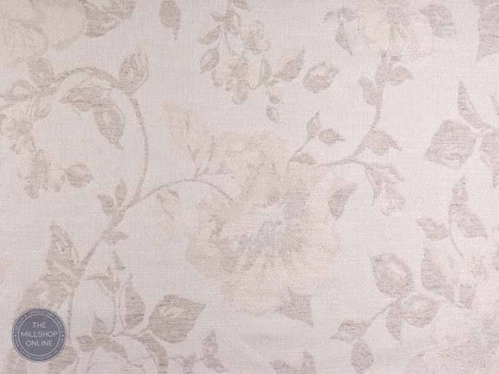 floral weave fabric