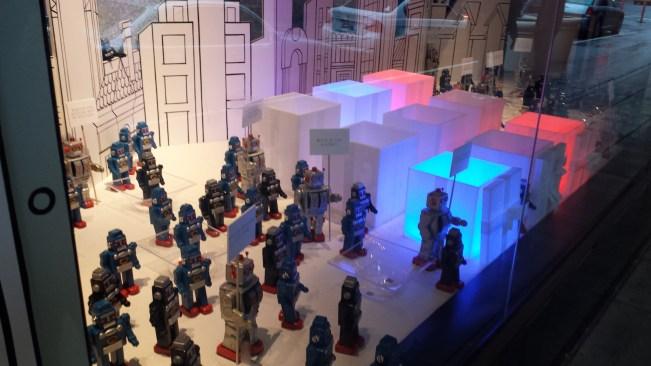 We found a robot army.