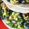 Simple Blueberry Salsa Fish Tacos | The Modern Dad