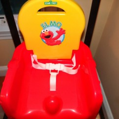 Sesame Street Table And Chairs Bedroom Argos Elmo Fruits 'n Fun Booster Seat Review-giveaway! - The Mommyhood Chronicles