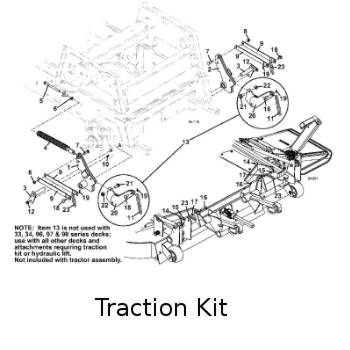 721DT 2008 Grasshopper Mower Parts Diagrams- The Mower