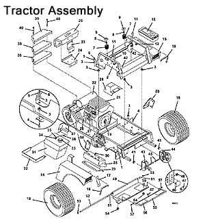 718K 720K Grasshopper Front Mount Tractors/Mowers 1996