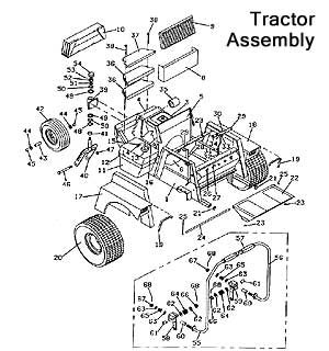 718K Grasshopper Front Mount Tractors/Mowers 1990- The