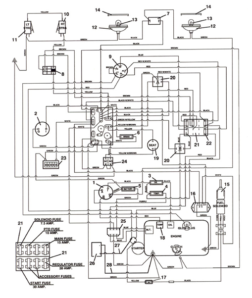 721D_2003_Wiring?resize\\\=509%2C602 forum kubota l345 wiring diagram on forum images free download Kubota M135X at bayanpartner.co