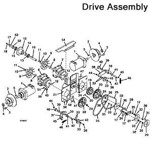 Model 721D2 Grasshopper Mower Parts Diagrams 1999- The