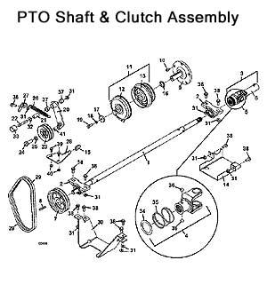 Model 721D2 Grasshopper Mower Parts Diagrams 2000- The