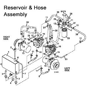Radiator Hose Heater For Tractor Tractor Power Steering