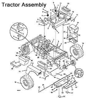 Model 721D2 1998 Grasshopper Mower Parts Diagrams- The
