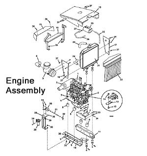 Model 721D2 2004 Grasshopper Mower Parts Diagrams- The