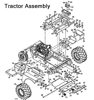 Model 722D2 Grasshopper Lawn Mower Parts Diagrams- The