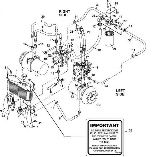 Kubota Hydraulics Filter Diagram, Kubota, Free Engine