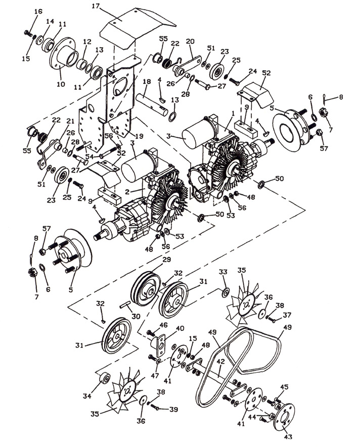 725 1990 Drive Assembly