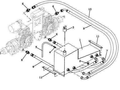 725 1990 Grasshopper Mower Diagram & Parts List