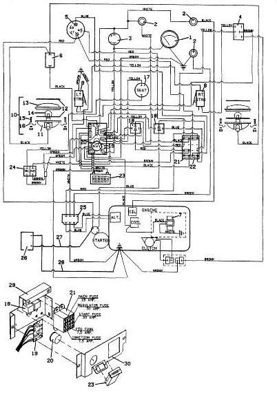 grasshopper mower wiring diagram plow