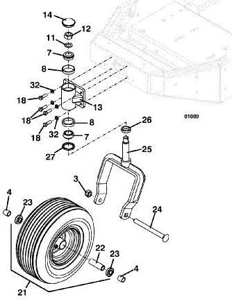 725K2 2003 Grasshopper Mower Diagrams & Parts