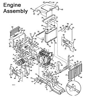 Model 725DT6 2010.5 Grasshopper Mower Parts Diagrams- The