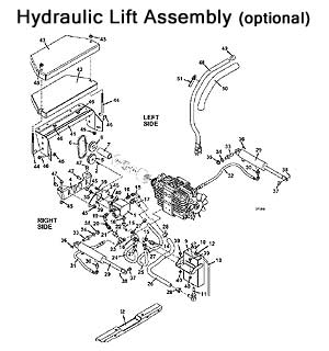 Model 725DT6 2010 Grasshopper Mower Parts Diagrams- The