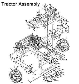 Model 725DT6 2010 Grasshopper Mower Parts Diagrams- The