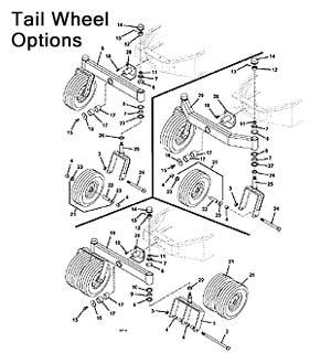 1996 Model 928D Grasshopper Mower Parts Diagrams- The