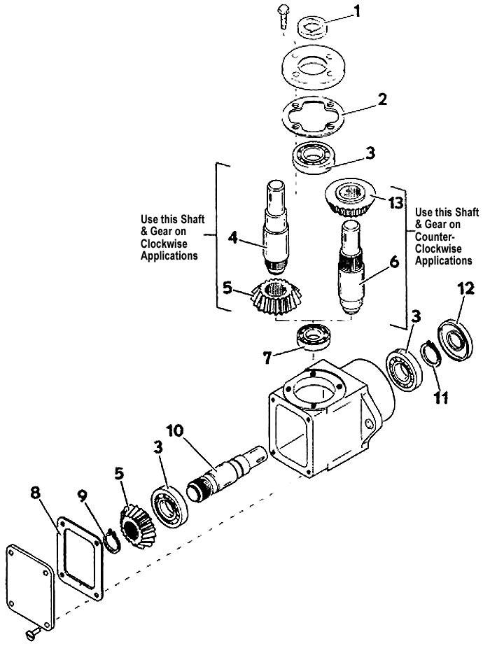 Model 2044 Front Mount Deck, 1987- Grasshopper Mower Parts