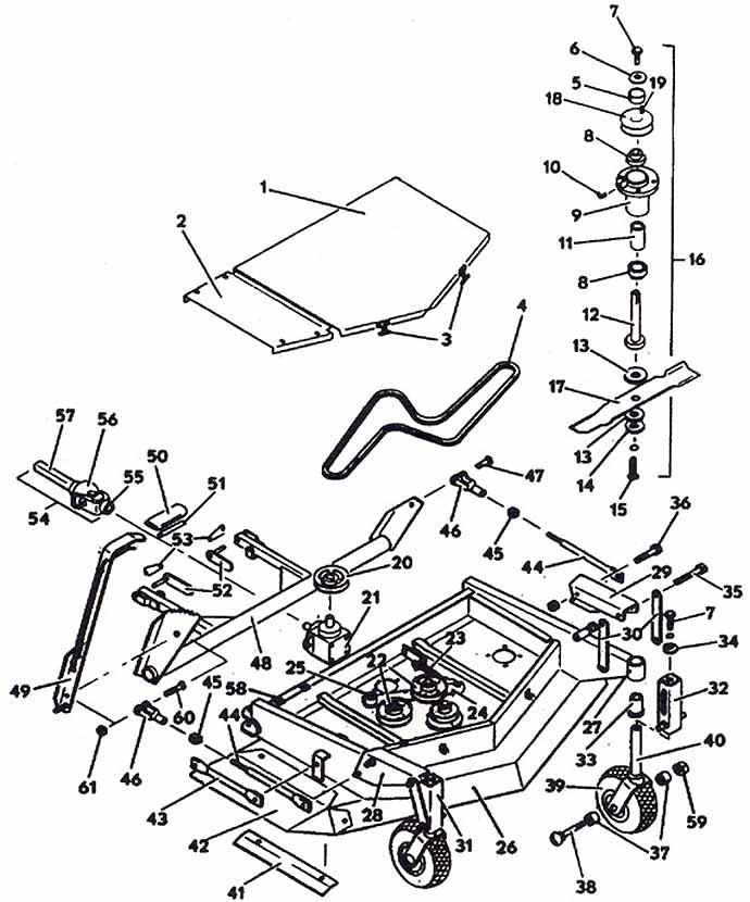 Kubota G1900 Wiring Harness