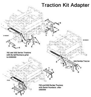 3344 / 3348 2003 Grasshopper Mower Decks- Grasshopper