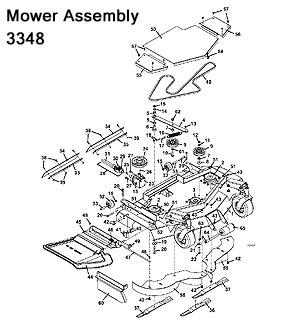 3344 / 3348 2004 Grasshopper Mower Decks- Grasshopper