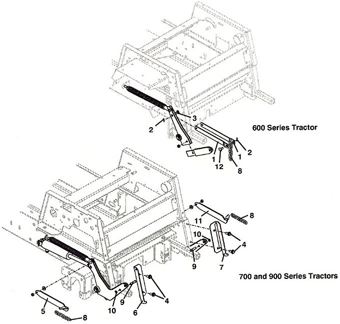 Grasshopper Parts Diagram 9861 Traction Kit Adapter 2001