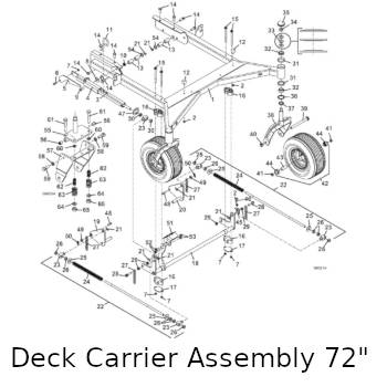Grasshopper 223 / 227 Mower Parts Diagrams 2011The Mower