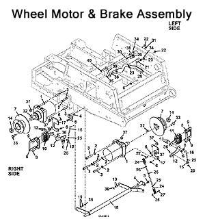 The Mower Shop, Inc.321D Parts Diagrams Index