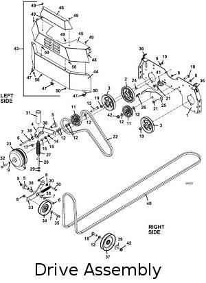 2006 322D Grasshopper Lawn Mower Parts DiagramsThe Mower