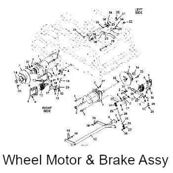 2009 Grasshopper model 325D Mid-Mount Mower Parts Diagrams
