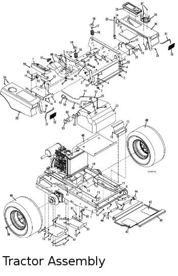 325D 2010.5 Mid-Mount Mower Parts Diagrams- The Mower Shop