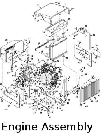 325D 2010 Mid-Mount Mower Parts Diagrams- The Mower Shop, Inc.