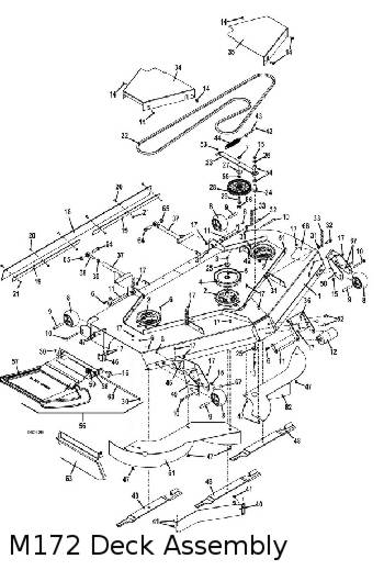 325D 2011 Mid-Mount Mower Parts Diagrams- The Mower Shop, Inc.