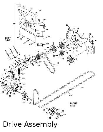 325D 2011 Mid-Mount Mower Parts Diagrams- The Mower Shop, Inc.