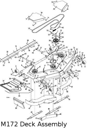 325D 2012 Mid-Mount Mower Parts Diagrams- The Mower Shop, Inc.