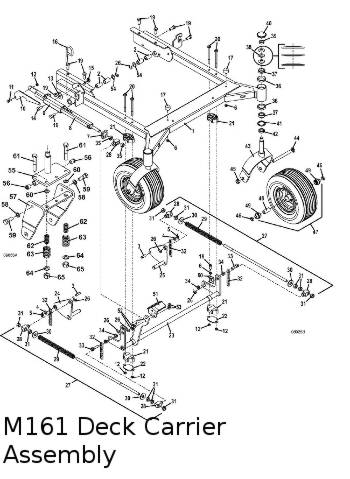 325D 2013 Mid-Mount Mower Parts Diagrams- The Mower Shop, Inc.