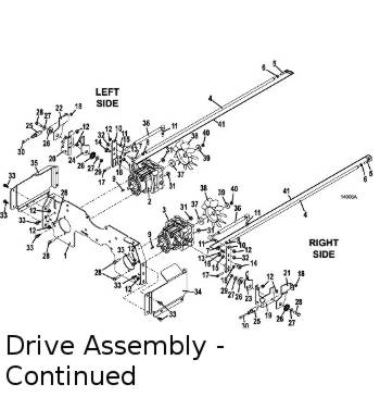 325D 2015 Mid-Mount Mower Parts Diagrams- The Mower Shop, Inc.
